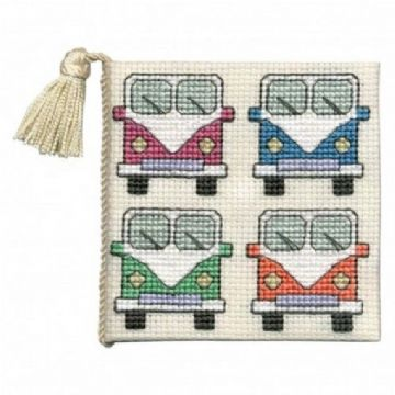 Camper Van   Needle Case Cross Stitch Kit